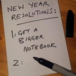 Writerly Wednesday: Writing Resolutions for 2012