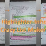 The Highlighter-Infused Crazy List Maker