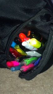 Stash in Le Backpack