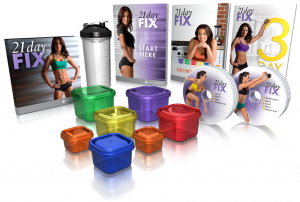 What you receive in your 21 Day Fix kit